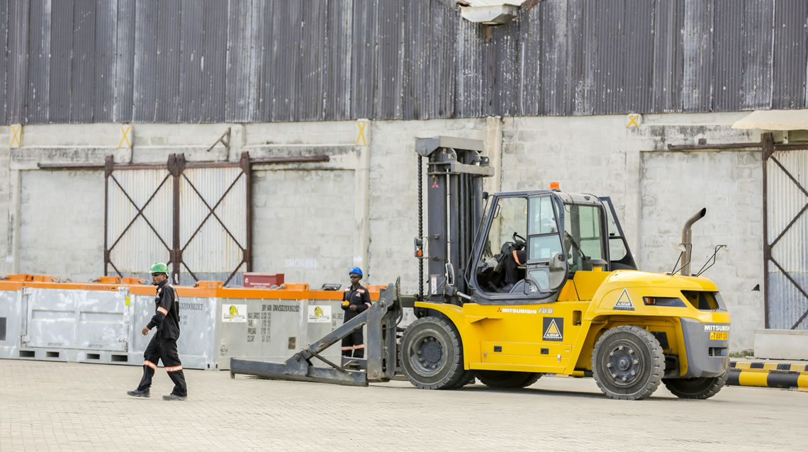 Offshore and Onshore Industrial Rentals - Tiger Offshore - Material Handling - Alistair Group