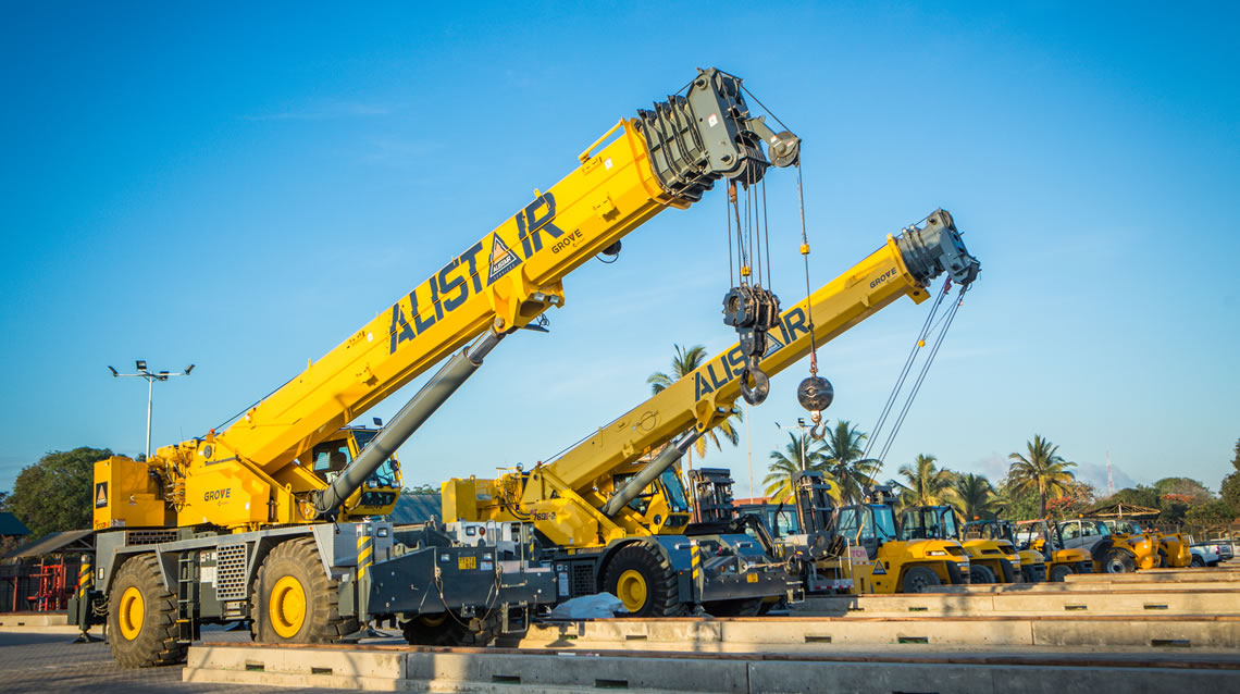 Offshore and Onshore Industrial Rentals - Crane Collection - Alistair Group