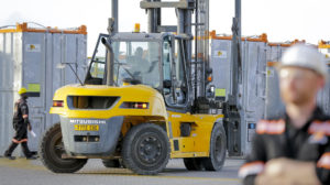 Offshore and Onshore Industrial Rentals - Forklift - Alistair Group