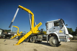 Box Loader for transferring containers - Alistair Group