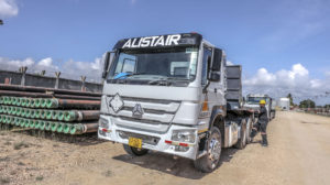 Specialty Cargo - Truck and Crane - Alistair Group