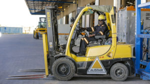 Storage and Warehousing - Forklift - Alistair Group