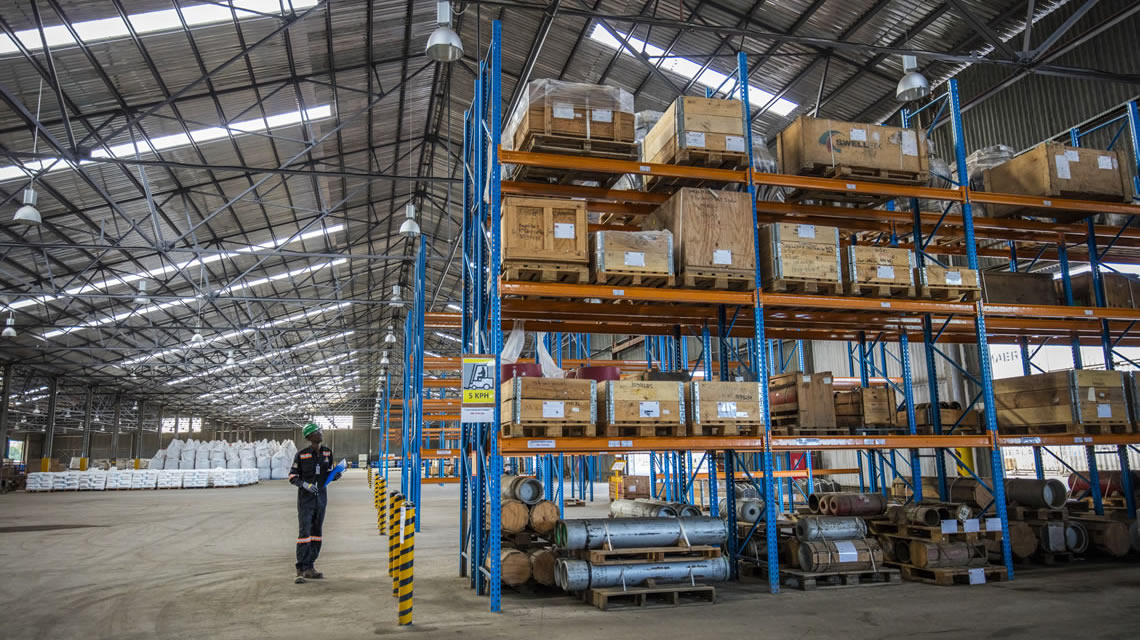 Storage and Warehousing - Inside - Alistair Group