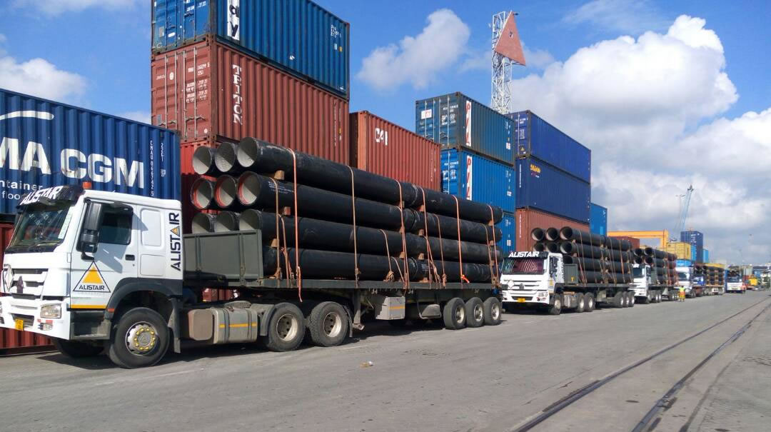 Load of The Month: 52 Truckloads of Steel Pipes - Alistair Group